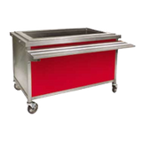 "Eagle DCS2-CFUI Director's Choice Iced Cold Pan Unit, 36""W x 30""D x 34""H, 4-5/8""D (2) pan size with 3/4"" drain & valve, 16/304 stainless steel top"