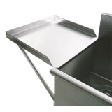 "Advance Tabco N-54-36 Drainboard, 24"" x 36"", square corner sinks only"