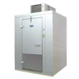 "Arctic Industries BL810-C-R Walk-In Cooler, Indoor, 7' 10""W x 9' 9-1/4""L x 7' 4""H, (+35 F holding), no floor, coated acrylume interior and exterior"