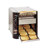 "APW XTRM-2H X*Treme Conveyor Toaster, Electric, Countertop, (600) Slices/Hour Capacity, 3""H Opening, 10""W Belt, Top & Bottom Heat Controls"