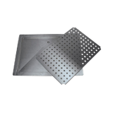 "Advance Tabco DP-1836 Drain pan, countertop, drop-in style, 18"" x 36"", 16 gauge 300 series stainless steel, with removable stainless steel drip tray, 1/2"""