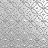 10' Wide x 4' Long Celestial Pattern White Finish Thermoplastic Flexlam Wall Panel