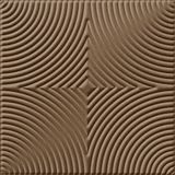 10' Wide x 4' Long Curvation Pattern Argent Bronze Finish Thermoplastic Flexlam Wall Panel