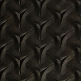 FlexLam 3D Wall Panel | 4ft W x 10ft H | Japanease Weave Pattern | Steel Strata Finish