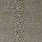 10' Wide x 4' Long Cascade Pattern Vintage Metal Finish Thermoplastic Flexlam Wall Panel