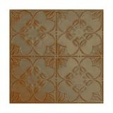 Tin Plated Stamped Steel Ceiling Tile | Nail Up/Glue Up Ceiling Tile | 2ft Sq | Gallery Finish