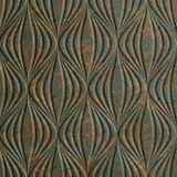 10' Wide x 4' Long Shallot Pattern Copper Fantasy Finish Thermoplastic Flexlam Wall Panel