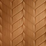 10' Wide x 4' Long Ariel Pattern Brushed Copper Finish Thermoplastic Flexlam Wall Panel