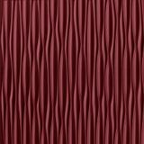 10' Wide x 4' Long Sahara Pattern Merlot Vertical Finish Thermoplastic Flexlam Wall Panel