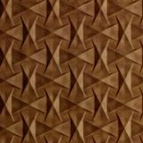 10' Wide x 4' Long Bowtie Pattern Antique Bronze Finish Thermoplastic Flexlam Wall Panel