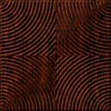 10' Wide x 4' Long Curvation Pattern African Cherry Finish Thermoplastic Flexlam Wall Panel