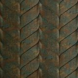 10' Wide x 4' Long Ariel Pattern Copper Fantasy Finish Thermoplastic Flexlam Wall Panel