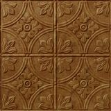 FlexLam 3D Wall Panel | 4ft W x 10ft H | Boston Pattern | Muted Gold Finish