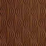 10' Wide x 4' Long Shallot Pattern Linen Chocolate Finish Thermoplastic Flexlam Wall Panel