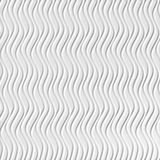 10' Wide x 4' Long Wavation Pattern White Vertical Finish Thermoplastic Flexlam Wall Panel