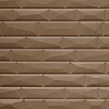 FlexLam 3D Wall Panel | 4ft W x 10ft H | Vista Pattern | Argent Bronze Finish