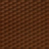 10' Wide x 4' Long Weave Pattern Linen Chocolate Finish Thermoplastic Flexlam Wall Panel