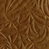 FlexLam 3D Wall Panel | 4ft W x 10ft H | Sculpted Petals Pattern | Muted Gold Finish
