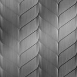 10' Wide x 4' Long Ariel Pattern Brushed Stainless Finish Thermoplastic Flexlam Wall Panel