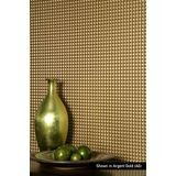 FlexLam 3D Wall Panel | 4ft W x 10ft H | Chocolate Square Pattern | Brushed Aluminum Finish