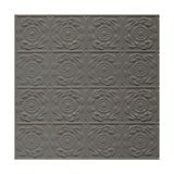 Tin Plated Stamped Steel Ceiling Tile | Lay In | 2ft Sq | Gunmetal Finish