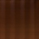 10' Wide x 4' Long Curves Pattern Linen Chocolate Finish Thermoplastic Flexlam Wall Panel