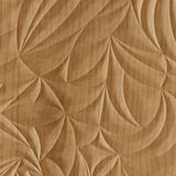 FlexLam 3D Wall Panel | 4ft W x 10ft H | Sculpted Petals Pattern | Oregon Ash Finish