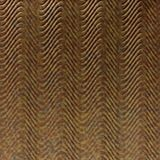 10' Wide x 4' Long Curves Pattern Cracked Copper Finish Thermoplastic Flexlam Wall Panel