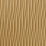 10' Wide x 4' Long Sahara Pattern Argent Gold Vertical Finish Thermoplastic Flexlam Wall Panel