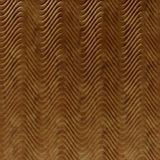 10' Wide x 4' Long Curves Pattern Muted Gold Finish Thermoplastic Flexlam Wall Panel