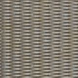 10' Wide x 4' Long Interlink Pattern Vintage Metal Finish Thermoplastic Flexlam Wall Panel