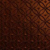 FlexLam 3D Wall Panel | 4ft W x 10ft H | Celestial Pattern | Welsh Cherry Finish