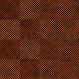 10' Wide x 4' Long Quadro Pattern Moonstone Copper Finish Thermoplastic Flexlam Wall Panel