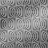 10' Wide x 4' Long Shallot Pattern Brushed Stainless Finish Thermoplastic Flexlam Wall Panel
