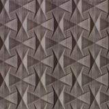 10' Wide x 4' Long Bowtie Pattern Bronze Strata Finish Thermoplastic Flexlam Wall Panel