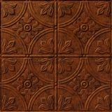 10' Wide x 4' Long Boston Pattern Moonstone Copper Finish Thermoplastic Flexlam Wall Panel