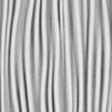 10' Wide x 4' Long Kalahari Pattern Argent Silver Finish Thermoplastic Flexlam Wall Panel
