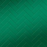 10' Wide x 4' Long Herringbone Pattern Mirror Green Finish Thermoplastic Flexlam Wall Panel
