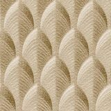10' Wide x 4' Long South Beach Pattern Eccoflex Tan Finish Thermoplastic Flexlam Wall Panel