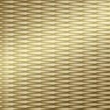 10' Wide x 4' Long Interlink Pattern Mirror Gold Finish Thermoplastic Flexlam Wall Panel