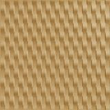 10' Wide x 4' Long Weave Pattern Argent Gold Vertical Finish Thermoplastic Flexlam Wall Panel