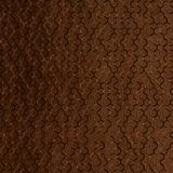 FlexLam 3D Wall Panel | 4ft W x 10ft H | Beehive Pattern | Linen Chocolate Finish