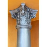 Orac Decor | High Density Polyurethane Corinthian Whole Capital | Primed White | 14in W x 11-5/8in H