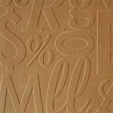 10' Wide x 4' Long Alphabet Soup Pattern Light Maple Finish Thermoplastic FlexLam Wall Panel