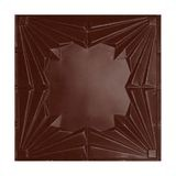 Tin Plated Stamped Steel Ceiling Tile | Lay In | 2ft Sq | Cl Burgundy Finish