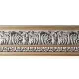 10in H x 1-1/2in Proj | Unfinished Polymer Resin | 480-C Series with Bottom Style 5 | Frieze Moulding | 5ft Long