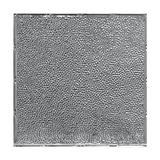 Tin Plated Stamped Steel Ceiling Tile | Lay In | 2ft Sq | Steel Laquer Finish