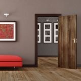 "84"" High x 48"" Wide Noce Secchia Finish Flexlam Door Skin"