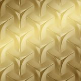 10' Wide x 4' Long Japanease Weave Pattern Mirror Gold Finish Thermoplastic FlexLam Wall Panel