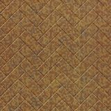 10' Wide x 4' Long Herringbone Pattern Cracked Copper Finish Thermoplastic Flexlam Wall Panel